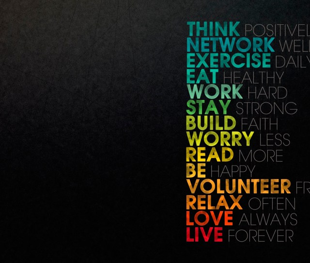 Inspirational Typography Hd Wallpapers For Desktop Iphone And Android
