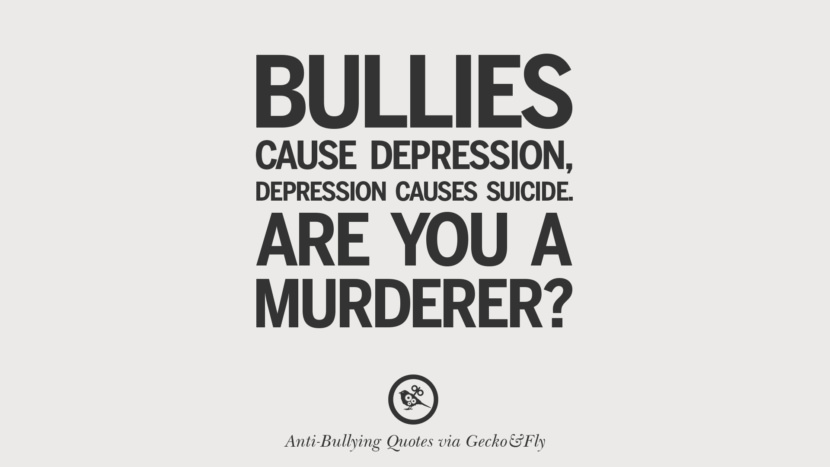 Aware Quotes Bullying Being