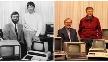 Bill Gates patched things up with Paul Allen, hoped to travel the world with Microsoft co-founder