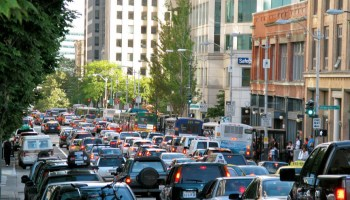 Uber-backed study touts benefits of downtown tolling in Seattle as ride-share industry pushes for congestion pricing
