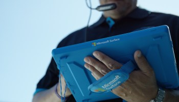 Microsoft calls Surface tablets on NFL sidelines the 'greatest technology integration in sports'