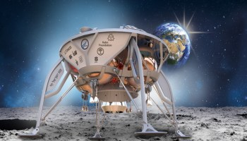 Israeli moon lander to ride SpaceX rocket in Spaceflight's first move beyond low Earth orbit