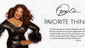Amazon Echo, Apple Watch and iPhone 6S make Oprah's 'Favorite Things for 2015' list, now live on Amazon