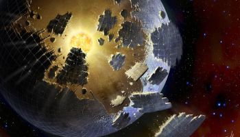 Dyson sphere megastructure