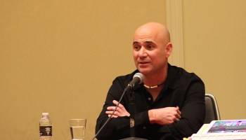 Here's why tennis legend Andre Agassi is at the big CES tech show