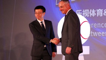 MLB inks deal with Chinese tech giant Letv to stream games in China