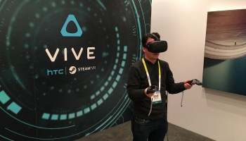 Testing the newest HTC Vive, the best virtual reality experience yet