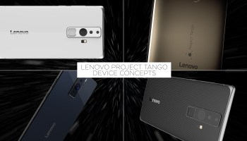 Lenovo teams up with Google to bring 3D-sensing Project Tango phone to consumers