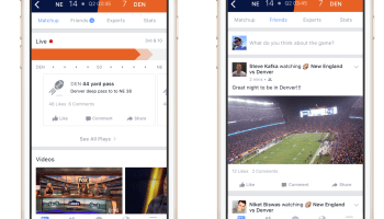 Facebook launches 'Sports Stadium' to give fans a place to chat during live games