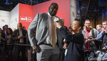 Videos: Talking tech with NBA legends Shaq, Charles Barkley and Kenny Smith