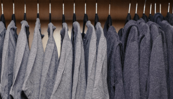 Fifty shades of Mark Zuckerberg: Facebook founder shows off closet full of grey