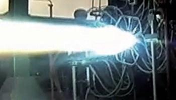 BE-4 engine testing