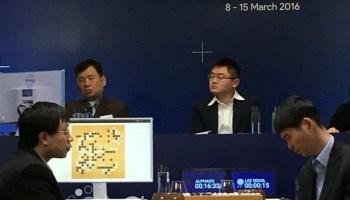 AlphaGo vs. Lee Sedol in Go showdown