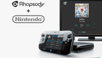 Rhapsody brings music streaming catalog to Nintendo's Wii U
