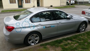 BMW's ReachNow car-sharing service opens dedicated parking lot on Friday evenings in busy Seattle neighborhood