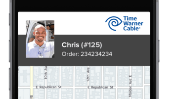 Argh, where's the cable technician? On a map, thanks to Glympse's new deal with Time Warner Cable