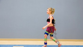 Walk this way: New metric from researchers could help kids with cerebral palsy