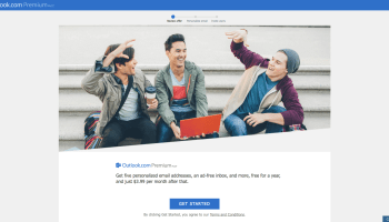 Microsoft expands trial of Outlook Premium service, offers custom domains for $3.99 per month