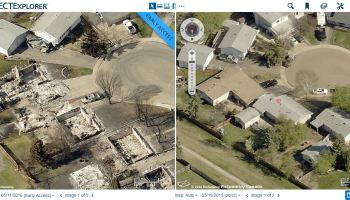 High-tech aerial photos reveal neighborhoods decimated by Alberta wildfires