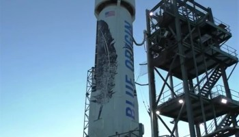 Blue Origin New Shepard craft
