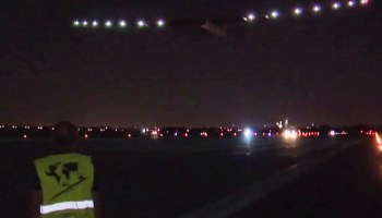 Solar Impulse takeoff