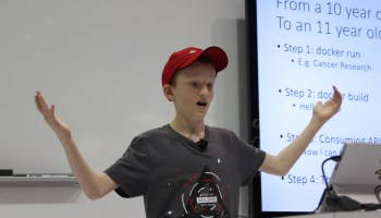 Meet Zeph Gardler, an 11-year-old Docker fan who mines 'Halo' stats using container technology