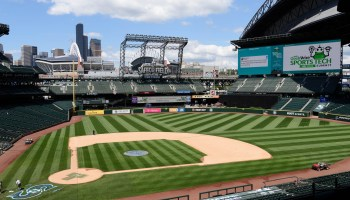 Topgolf brings new pop-up 'Crush' game to Safeco Field, home of the Seattle Mariners
