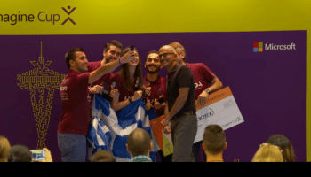 Microsoft CEO Satya Nadella challenges Imagine Cup teams to change the world with technology