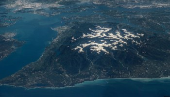 Olympic Peninsula gets its close-up from the International Space Station