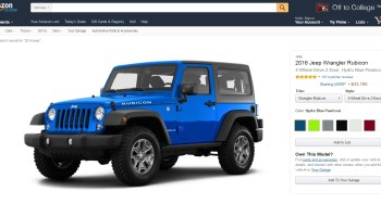 New Amazon Vehicles feature aims to take some of the pain out of car shopping