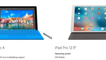 Microsoft goes after Apple again with new ad that takes aim at iPad Pro
