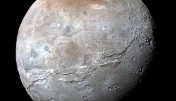 Charon, Pluto's biggest moon