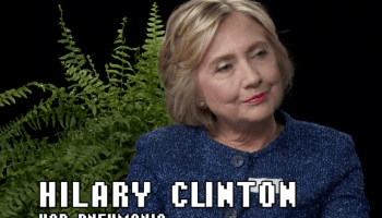 'Any regrets over losing the Scott Baio vote?' Hillary Clinton's 'Between Two Ferns' appearance is internet gold