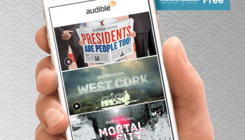 Amazon's new Prime benefit: Audible Channels programs and selected audiobooks