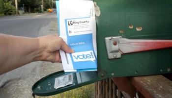 Election ballot arrival