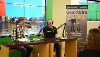 Hey, GeekWire listeners, join us for a live recording of our weekly podcast