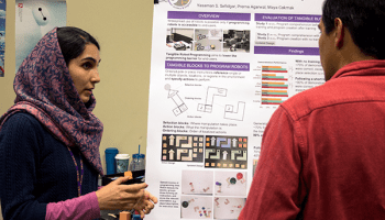 WiFi communication project takes top prize from Madrona at UW computer science showcase
