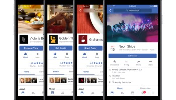 Facebook wants to be your one-stop-shop for tickets, recommendations, and local businesses