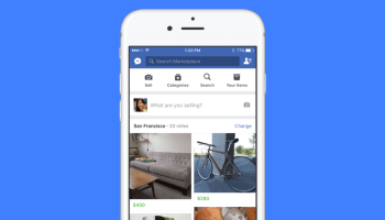 Facebook testing ads in Marketplace, its Craigslist and OfferUp challenger