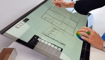 Watch how Microsoft's new Surface Dial works on the Surface Studio PC