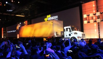 Amazon reveals AWS Snowmobile, a 45-foot semi-trailer that moves exabytes of data to the cloud