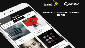 Sprint integrates with Seattle-based Napster