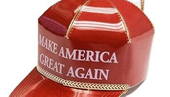 Amazon Trump ornament