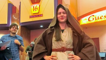 Margaret Urfer as Jedi knight