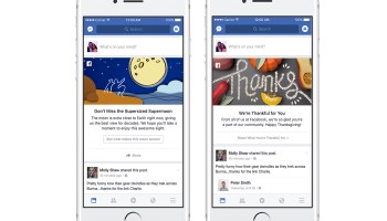 Here's the deal with those special messages on top of your Facebook News Feed