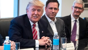Trump picks Peter Thiel's top aide as White House's deputy chief of technology