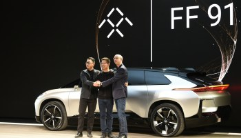 Faraday Future unveils their first electric car — the FF 91