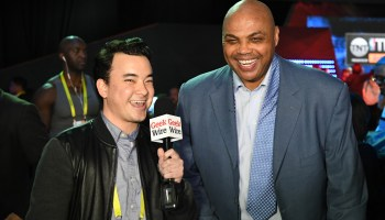 Video: Former NBA stars Shaq, Charles Barkley, Kenny Smith talk tech, politics, hoops at CES