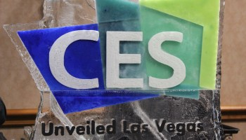 GeekWire CES Dispatch, Day 1: Fast cars, big dreams and high-tech underwear