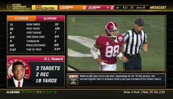 How to stream tonight's Alabama vs. Clemson college football championship for free